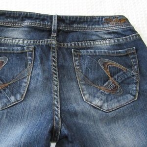 Silver Blue Jeans size 28 Jasmine